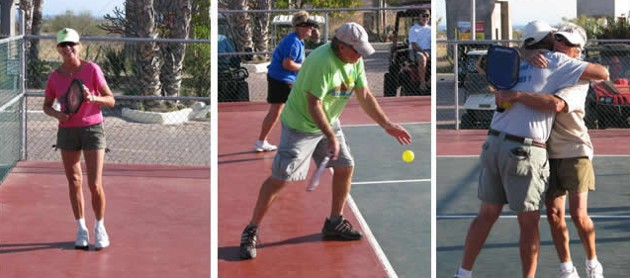 Loma del Mar pickle ball-player